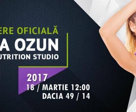 """Unic în țară! """"Elena Ozun"""" fitness&nutrition studio se deschide la Chișinău"""