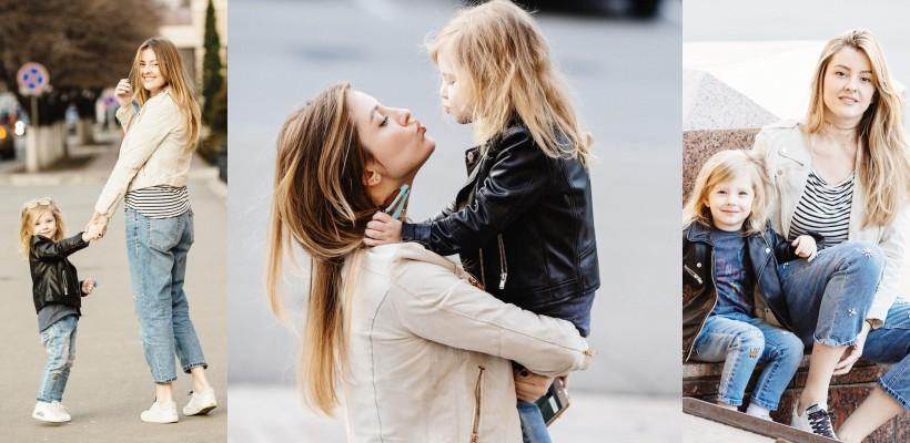 """Bloggerița Ana Ciorici, despre fetița ei: """"Copiii sunt oglinda părinților. Vreau să mă considere o prietenă!"""""""