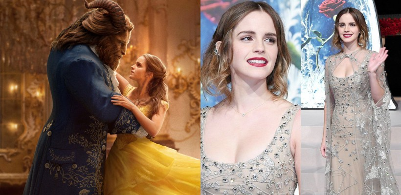 """Emma Watson, într-o ținută cuceritoare la premiera chineză a filmului """"Frumoasa şi Bestia"""" (FOTO)"""