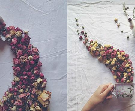 Unii sunt urmăriți pe Instagram pentru fese bombate, Marina Malinovaia e apreciată pentru compozițiile cu cești de ceai și flori