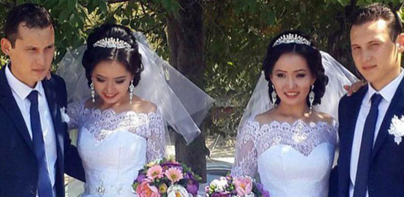 Două surori gemene s-au căsătorit cu doi frați gemeni! Ambele sunt însărcinate