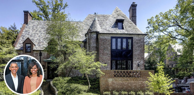 Imagini din noua locuință închiriată de familia Obama. Casa valorează 6 350 000$