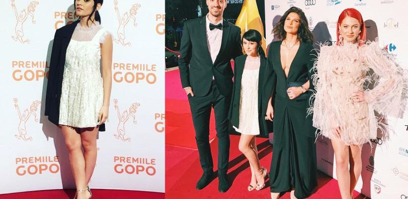 Irina Rimeș: apariție stilată la o Gală românească a Premiilor din cinematografie (FOTO)