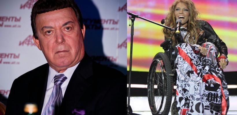 """Iosif Kobzon critică alegerea Yuliei Samoylova pentru Eurovision 2017: """"Nu este un concurs pentru paralimpici!"""""""