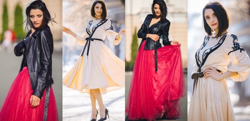 Lilia Ojovan – model pentru cea mai nouă colecție de ținute Pupi Sweet Dress! (FOTO)