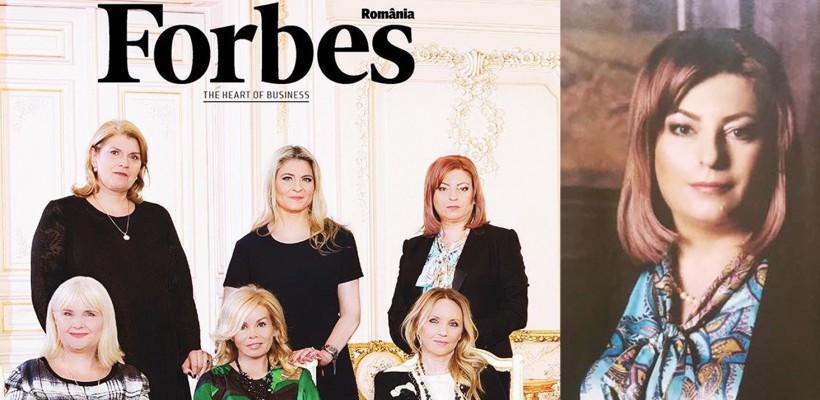 O moldoveancă de succes, pe coperta publicației Forbes România! (FOTO)