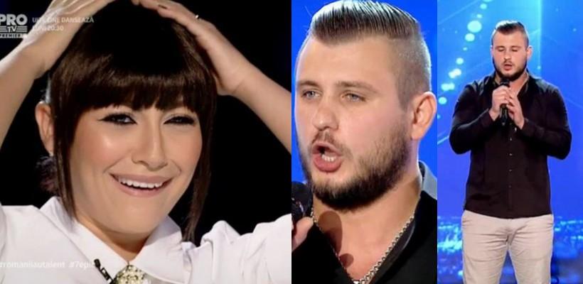 Un bijutier din Orhei a făcut senzație cu vocea sa la Românii au Talent (VIDEO)
