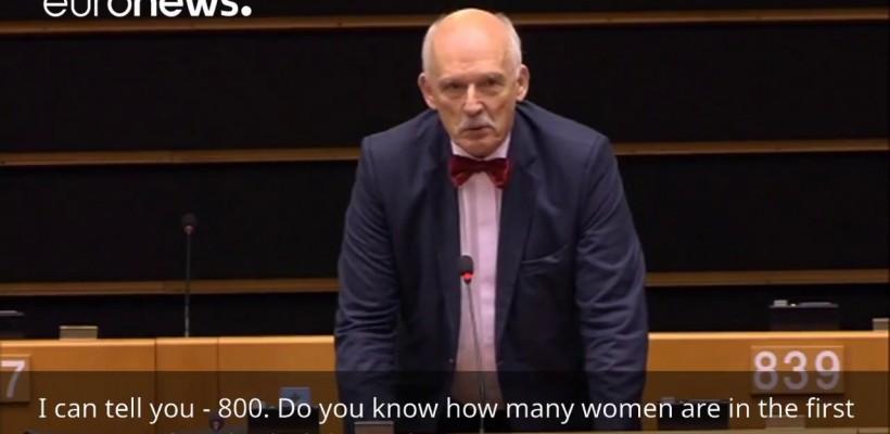 """Deputat polonez în Parlamentul European: """"Femeile trebuie să câștige mai puțin decât bărbații"""""""