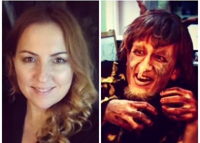 O moldoveancă are o carieră de vis la Moscova. Face machiaj TV, de teatru și film