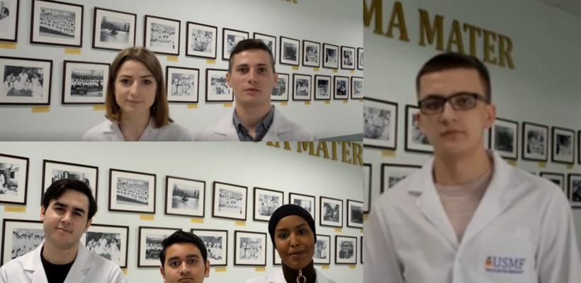 """Studenții Universității de Medicină și Farmacie """"Nicolae Testimițanu"""" le transmit mamelor cele mai emoționante mesaje de felicitare"""