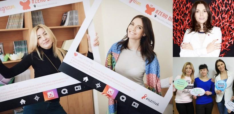 Zero discriminare! Olia Tira, noua ambasadoare UNAIDS în Moldova, le-a dat întâlnire femeilor HIV pozitive