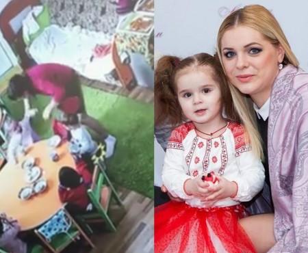 """Fiica unei meșterițe handmade din Chișinău a fost lovită de către educatoara sa în timp ce lua masa! Reacția administrației: """"I-a salvat viața"""""""
