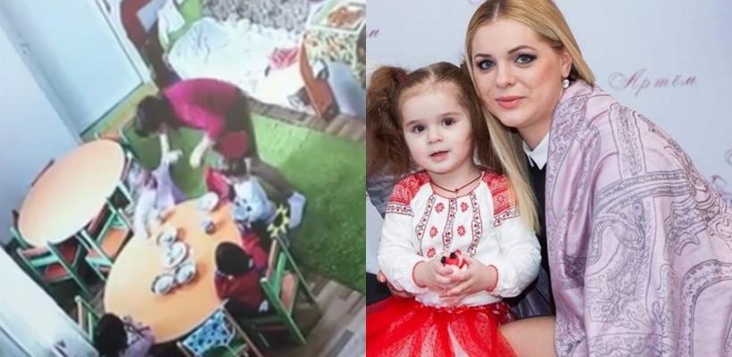 """Fiica unei meșterițe handmade din Chișinău a fost lovită de către educatoarea sa în timp ce lua masa! Reacția administrației: """"I-a salvat viața"""""""