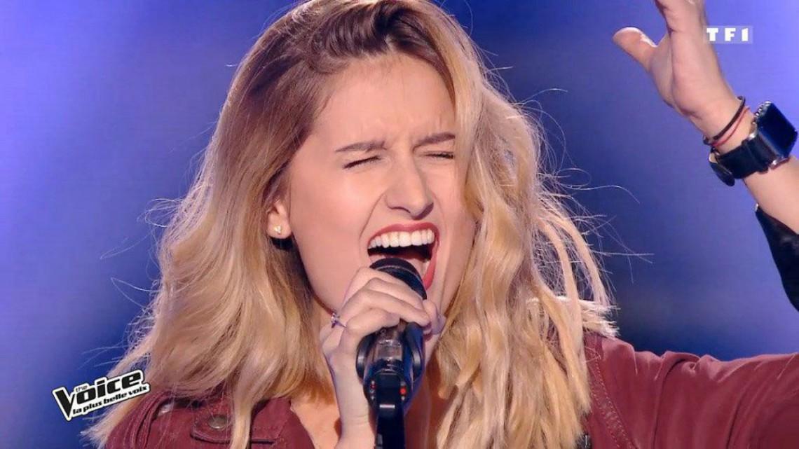 """Lidia Isac, prestație spectaculoasă la """"The Voice"""" Franța! """"Mi-am dorit ca vocea mea să fie auzită de milioane de spectatori"""" (VIDEO)"""