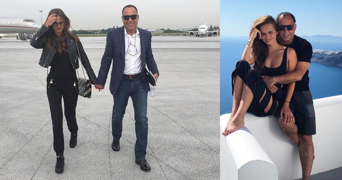 Xenia Deli, plecată în Egipt, la baștina soțului său – milionarul Ossama Fathi Rabah Al-Sharif