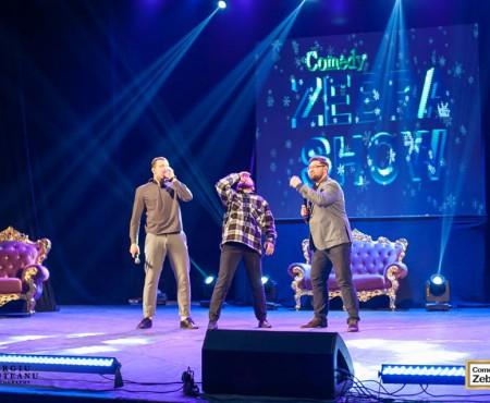 Petrecerea în Pijamale va începe cu umor: Comedy Zebra Show – primii invitați speciali ai serii