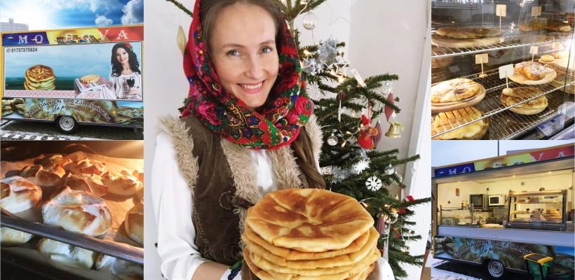 """""""Să revenim acasă este cel mai mare vis pe care îl avem!"""" O moldoveancă a lansat, în Germania, o afacere cu plăcinte tradiționale"""