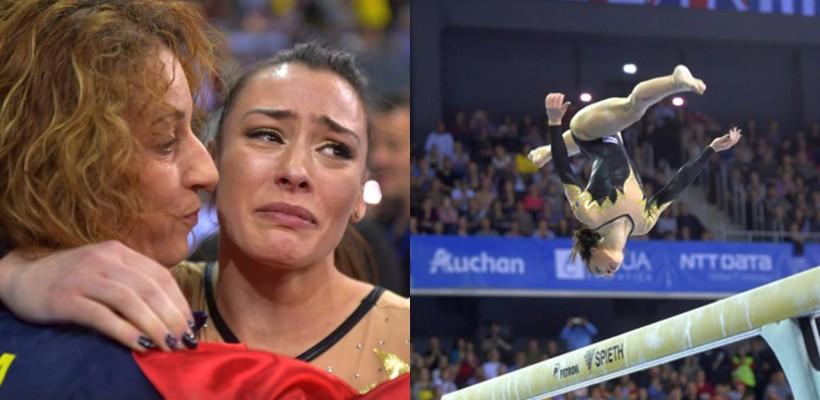 Pe urmele Nadiei Comăneci! O româncă demonstrează performanțe incredibile la capitolul gimnastică