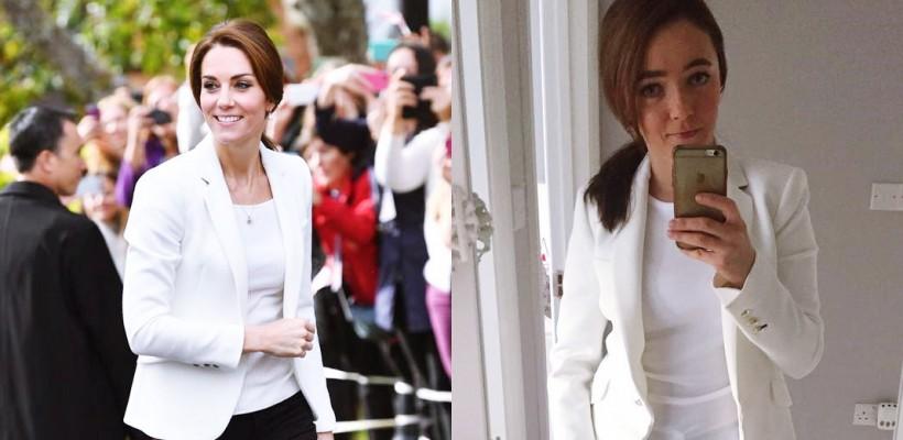 O britanică pe nume Kate reproduce stilul Ducesei de Cambridge! Are o garderobă imensă (FOTO)