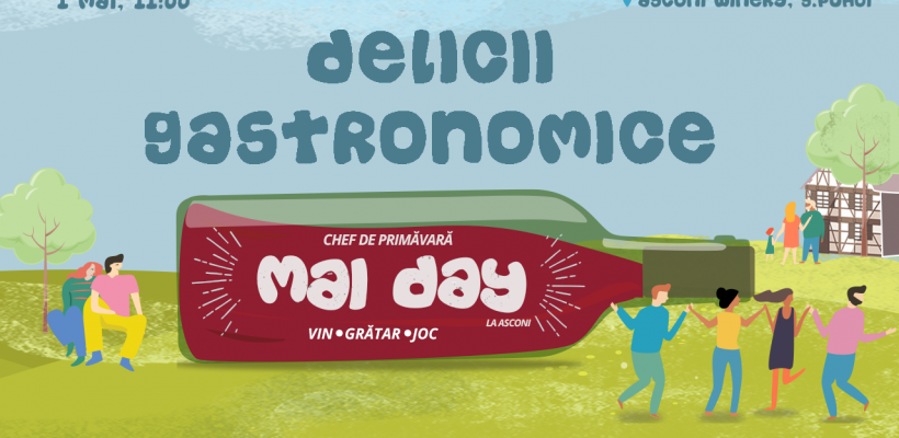 Delicii culinare și bunătățuri tradiționale te așteaptă la primul picnic al primăverii Mai Day!