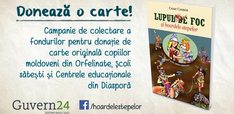 """Micul dac """"Duță-Niță"""" și pisoiul """"Fosăilă"""" pot bucura copii din orfelinate și din diasporă. Donează o carte!"""