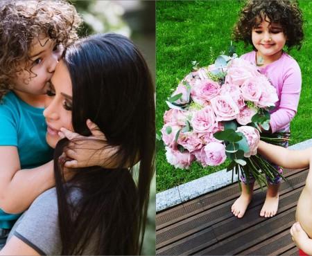 Noi imagini cu micuții Elenei Băsescu. Traian și Sofia Anais au topit-o cu felicitări la a 37-a aniversare