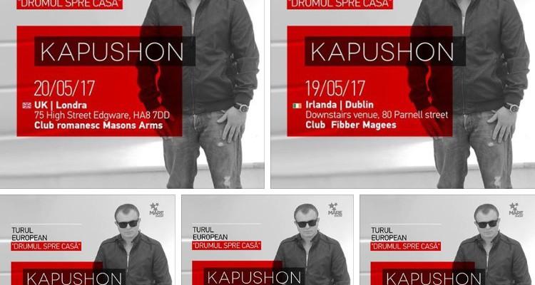 Kapushon și Lia Taburcean pornesc într-un turneu dedicat diasporei moldovenești din toată Europa (Video)
