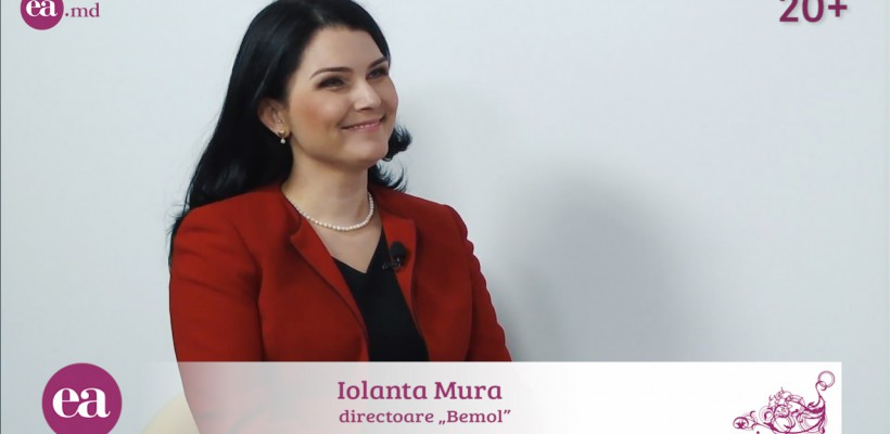 """Iolanta Mura, directoare Bemol: """"În afaceri nu-mi plac jocurile murdare și trucurile ilegale, în rest le poți depăși pe toate"""""""