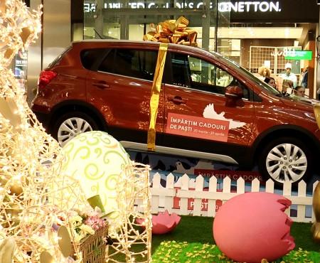 Iepurașul a adus premii de valoare clienților Shopping MallDova. Ce daruri au fost puse la bătaie (VIDEO)