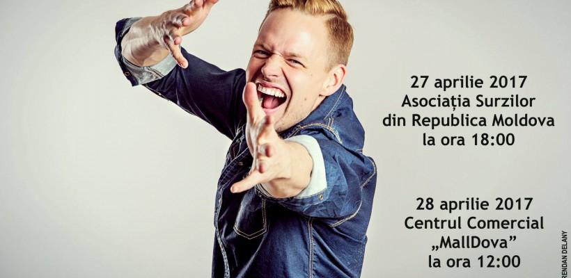 Rapp tradus în limbajul semnelor! Un celebru rapper finlandez a cântat la Chișinău pentru persoanele cu dizabilitate de auz (Video)