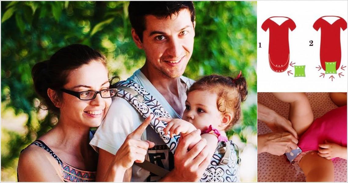 O mămică din Chișinău a conceput extensia pentru body – accesoriu de mare folos pentru mamele cu pici
