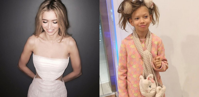 Fotografii nevăzute cu mezina Verei Brejneva! Sara apare mai rar în pozele mamei, dar îi seamănă leit