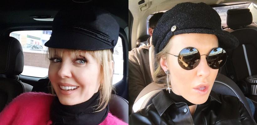 Kseniya Sobchak și Valeriya recomandă șapca marinărească – accesoriul must-have al sezonului