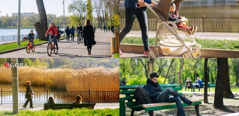 O altă Capitală! Cum arată Chișinăul în toiul Primăverii (FOTO)