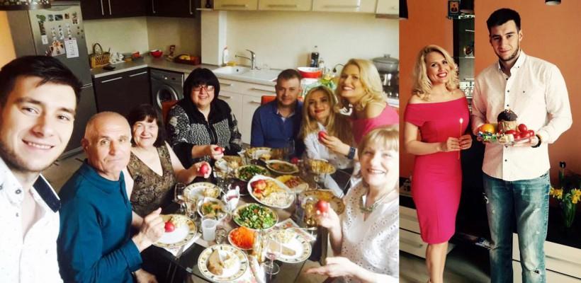 Bat clopotele de nuntă? Dianna Rotaru și Ilia Tataru și-au reunit familiile de Paști (FOTO)