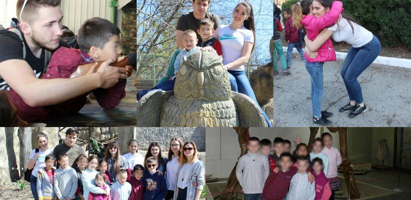 10 tineri din Capitală au fericit, de Ziua Faptelor Bune, 10 pici de la Școala Internat din Străşeni