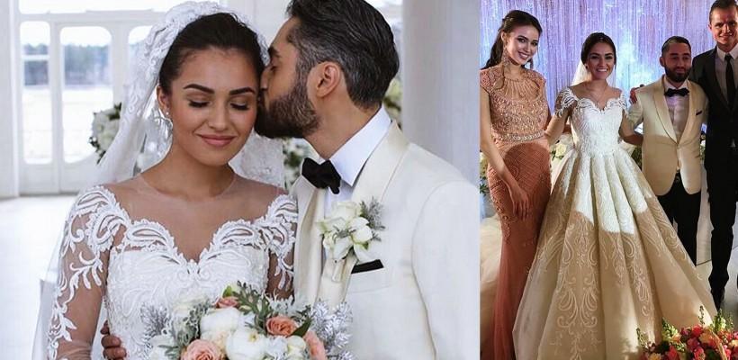 Rapperul MOT și logodnica sa au jucat o nuntă ca-n povești! Mireasa a schimbat două rochii (FOTO)