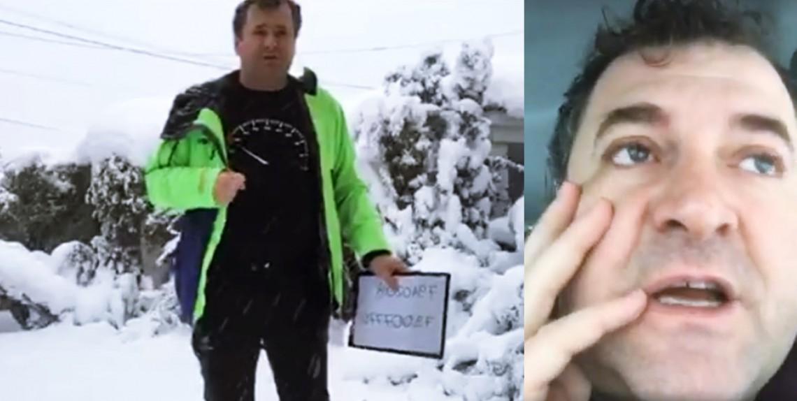 Un locuitor al Capitalei îi mobilizează pe internauți să combată starea excepțională din Chișinău (VIDEO)