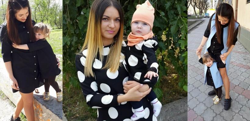 """Maternitatea a inspirit-o să creeze articole vestimentare deosebite! Diia Garabaji, despre seturile mamă-fiică: """"Îmi place să ofer personalitate fiecărei ținute"""""""
