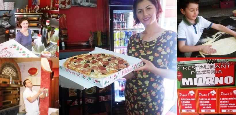 """O nisporeneancă și-a deschis o pizzerie de succes la Bruxelles: """"La bucătărie muncim doar eu și soțul!"""""""