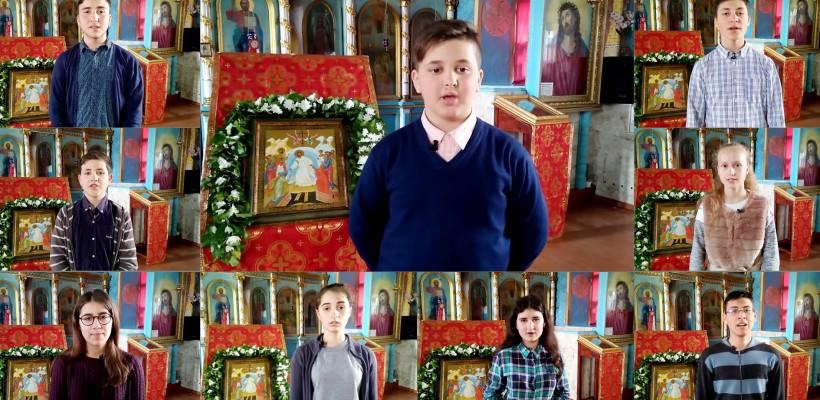 9 tineri din Ghidighici reamintesc creștinilor cum e corect să cinstească Paștile Blajinilor (VIDEO)