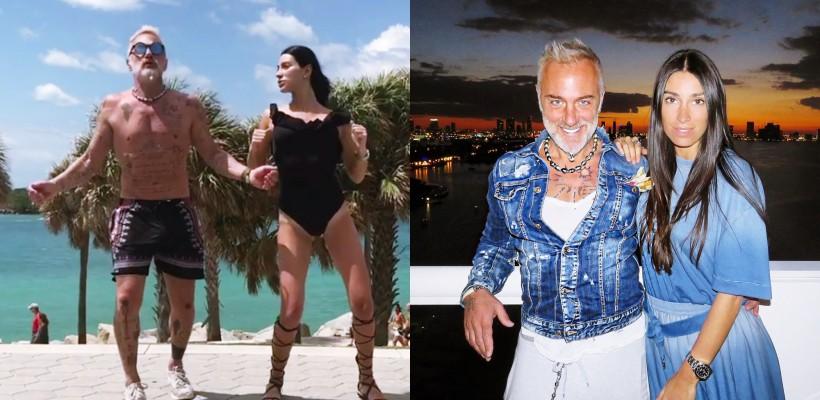 Nu se opresc din dans nici la Miami! Italianul Gianluca Vacchi și soția sa încing din nou Instagram-ul