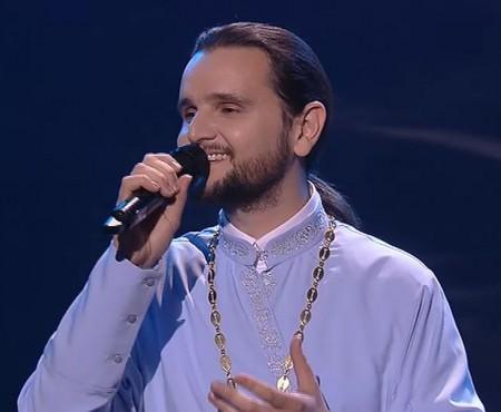 Un preot de 33 de ani a devenit Vocea Ucrainei! A învins de dragul familiei sale (VIDEO)