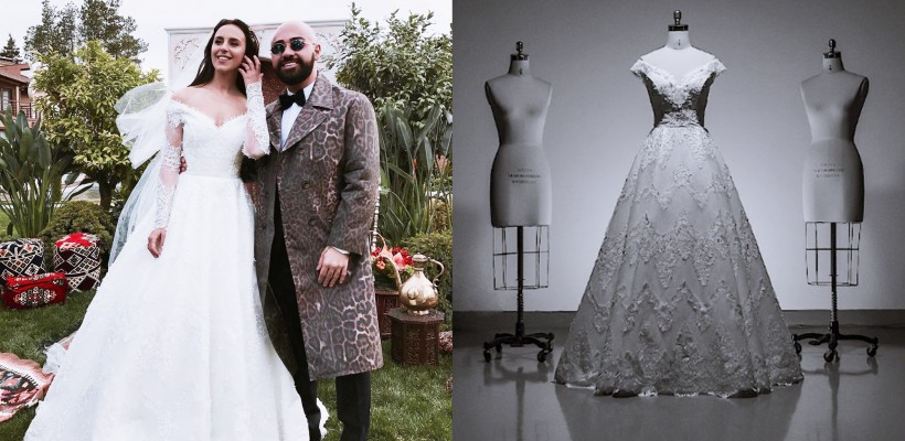 Un celebru fashion designer georgian arată cum a creat rochia de mireasă a cântăreței Jamala