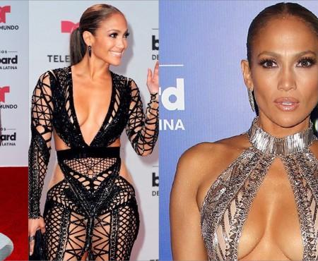 Fără inhibiții! Jennifer Lopez, mai mult dezbrăcată decât îmbrăcată, în cadrul unei gale (FOTO)