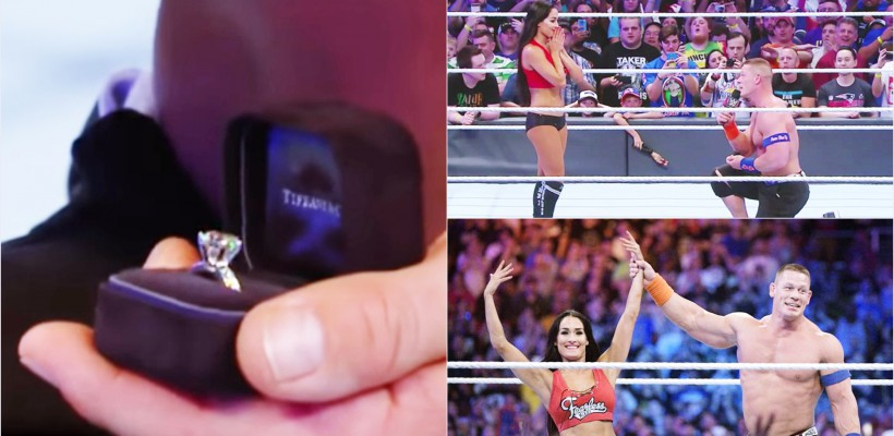 Celebrul wrestler american John Cena și-a cerut iubita în căsătorie chiar pe ringul de lupte (VIDEO)