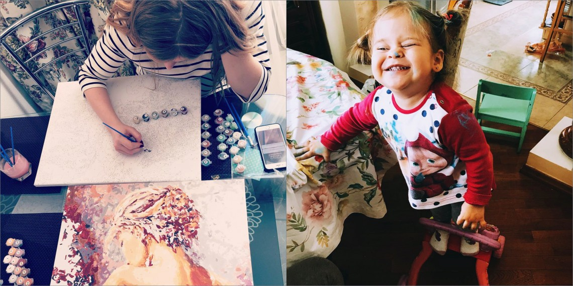 Fetița Olgăi Fesenco pășește tot mai mult pe urmele mamei. Ce pasiuni a moștenit, în afară de muzică