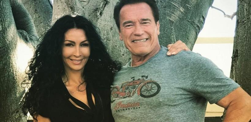 Mihaela Rădulescu, la braț cu Arnold Schwarzenegger. Cum s-au întâlnit cei doi (FOTO)