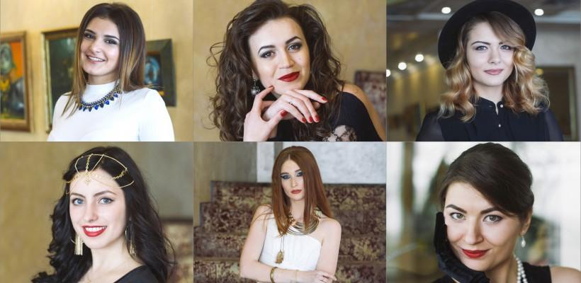 6 moldovence frumoase foc luptă pentru titlul Miss Basarabia 2017. Despre cine este vorba