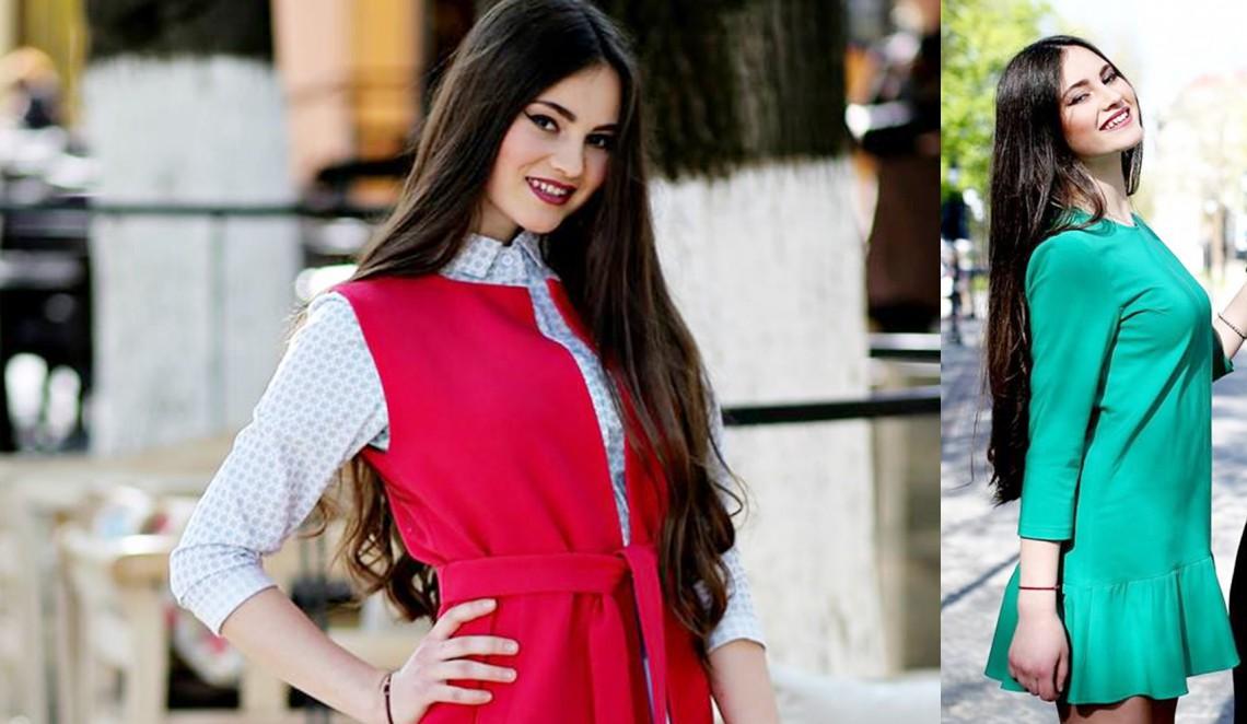 Sora lui Emilian Crețu pășește cu încredere în industria modei! E model pentru încă un brand autohton